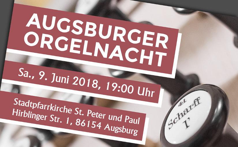 10. Augsburger Orgelnacht